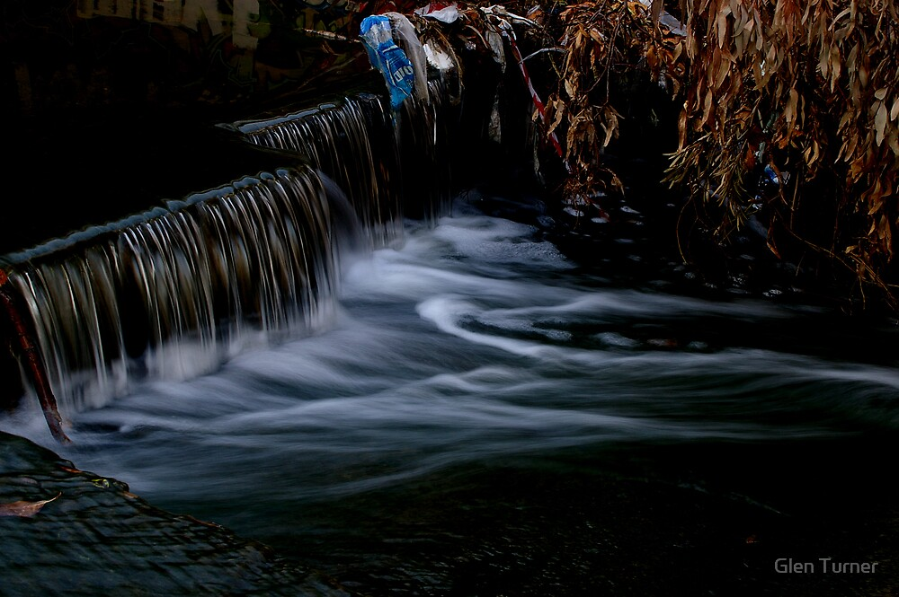 Urban Waterfall by Glen Turner