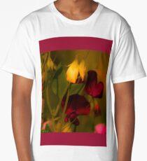 Summer Sweetpeas Long T-Shirt