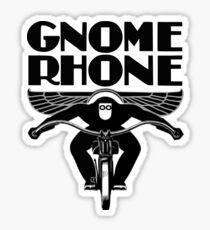 Gnome Rhone Motorcycles RIDER Sticker