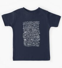 Something Fishy (for dark backgrounds) Kids Tee