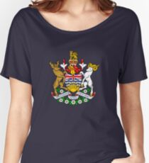 British Columbia Coat of Arms Women's Relaxed Fit T-Shirt