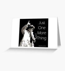 Lt. Columbo Greeting Card