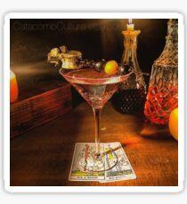 Catacomb Culture - Halloween Martini Sticker