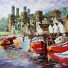Conwy England  by Daniel Wall