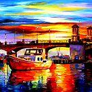 Passing The Bridge by Daniel Wall