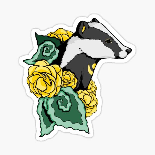 Beware the Badger Sticker