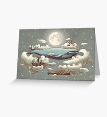 Ocean Meets Sky  Greeting Card