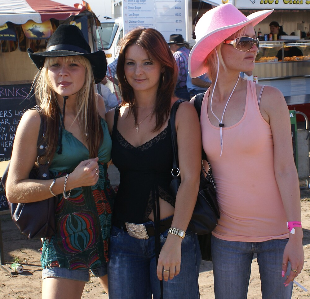 Three cowgirls. by JustinCase
