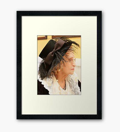 Caretaker; U.S.A.  Framed Print