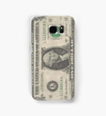 8bit Greenback Samsung Galaxy Case/Skin