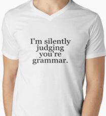 I'm silently judging you're grammar T-Shirt