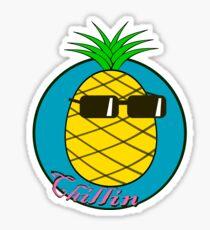 Chill Pineapple Sticker