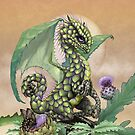 Veggie Dragon Calendar by Stanley Morrison