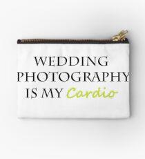 Hochzeitsfotografie ist mein Cardio Täschchen