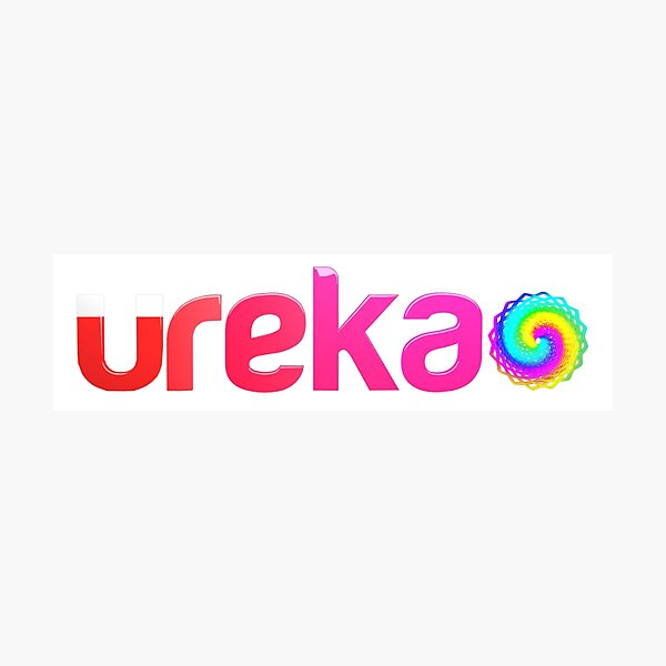 ureka: earth heart community - logo Photographic Print