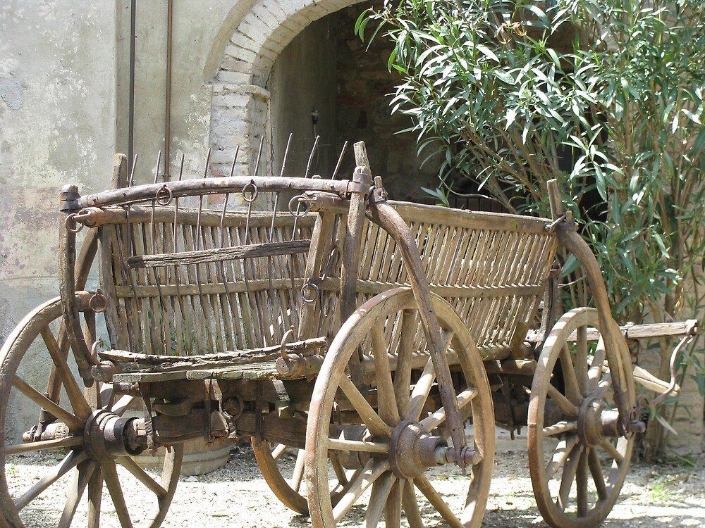 Farmhouse Cart by Brendisima