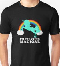 I'm Freaking Magical unicorn design Super cute Unisex T-Shirt
