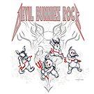Devil Bunnies Rock! by Michael Dodge