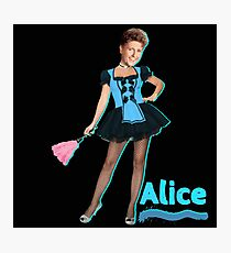 The Brady Bunch- Sexy Alice Photographic Print