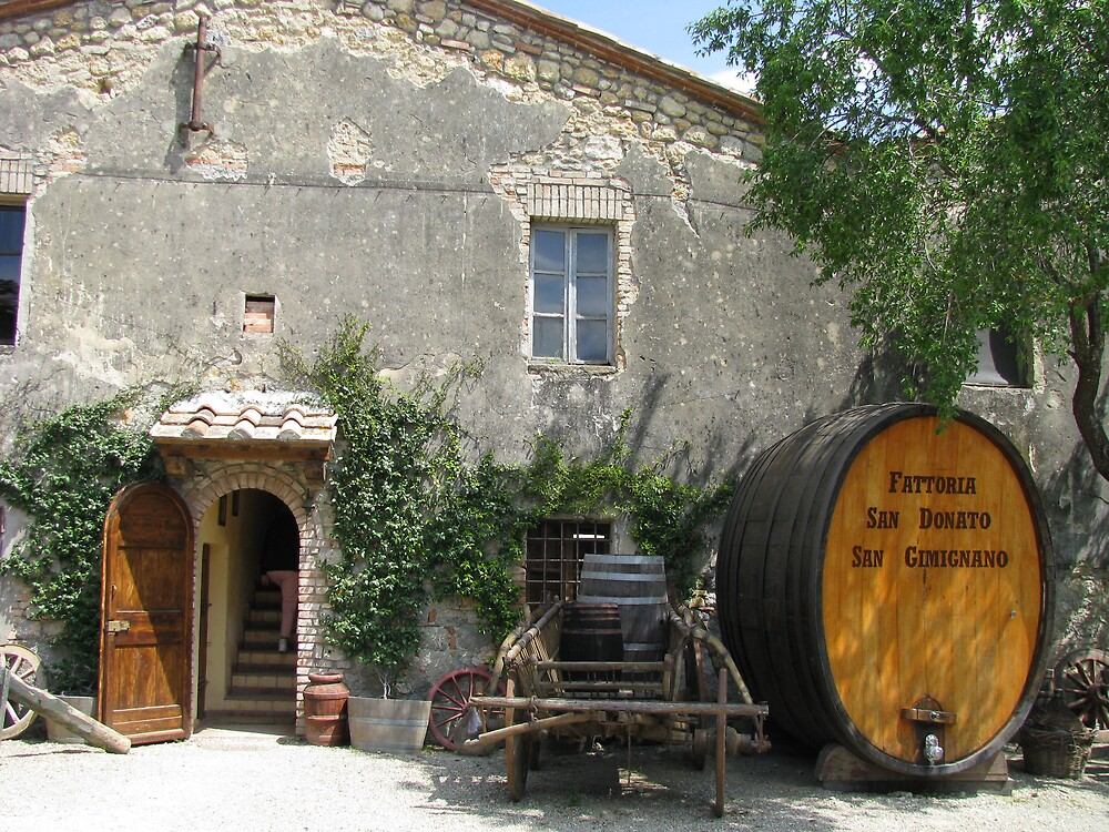 Farmhouse Winery by Brendisima