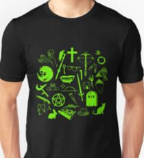 Buffy Symbology - Green T-Shirt