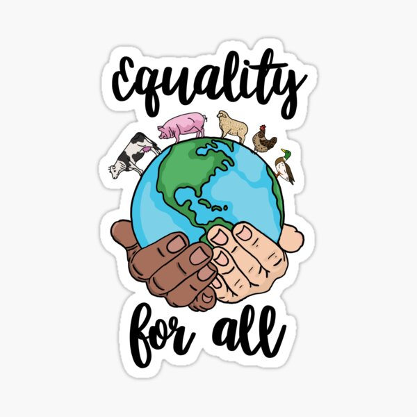 Equality for all  Sticker