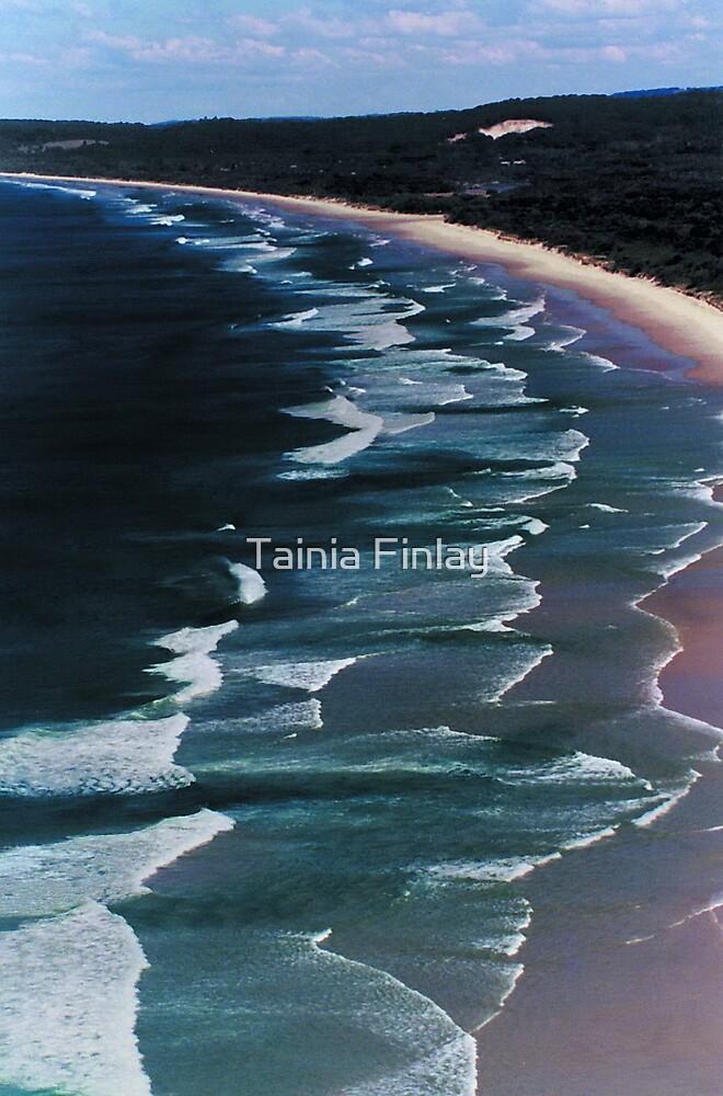 Tallow Beach by Tainia Finlay