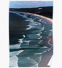 Tallow Beach Poster