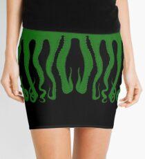 Green Octopus Mini Skirt