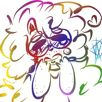 rainbow maddie by Prince-Dannie
