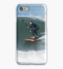 Stand up paddle surfer iPhone Case/Skin