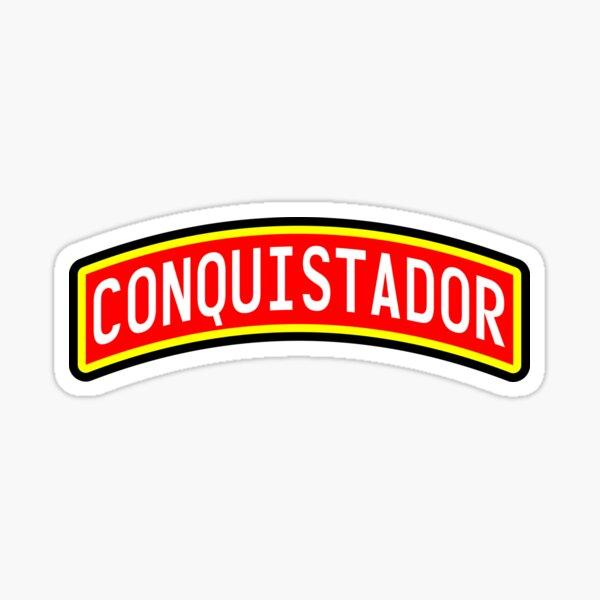 Conquistador Pegatina
