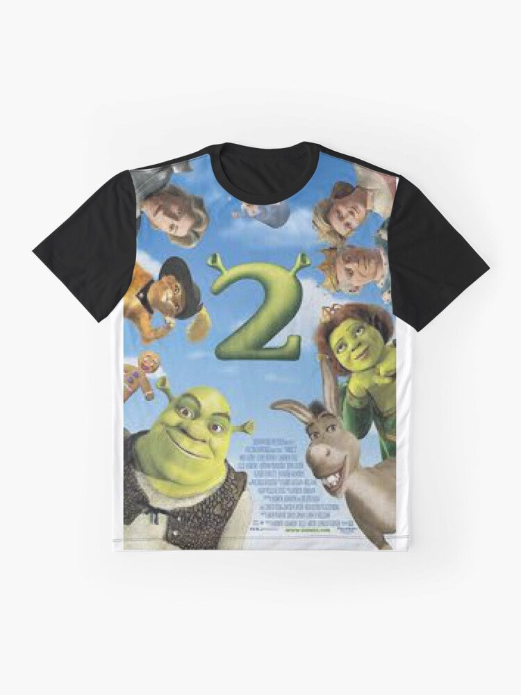 Alternative Ansicht von Shrek 2 Grafik T-Shirt