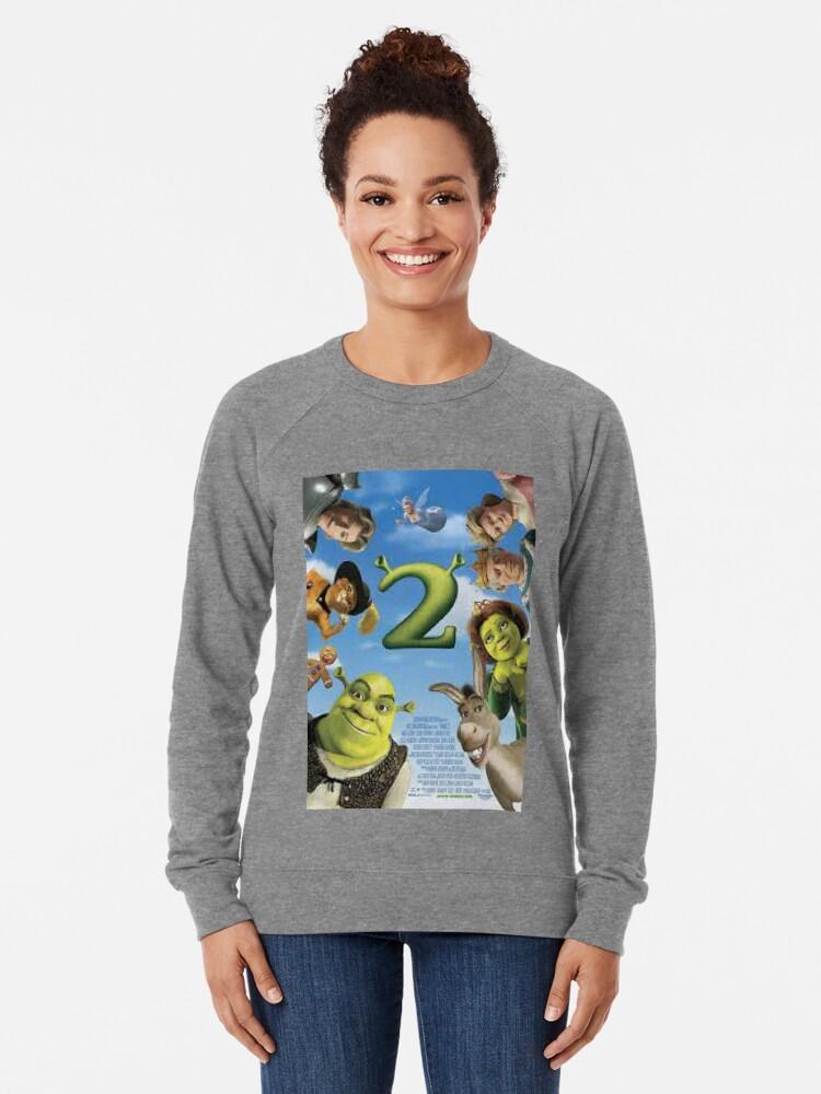 Alternative Ansicht von Shrek 2 Leichter Pullover