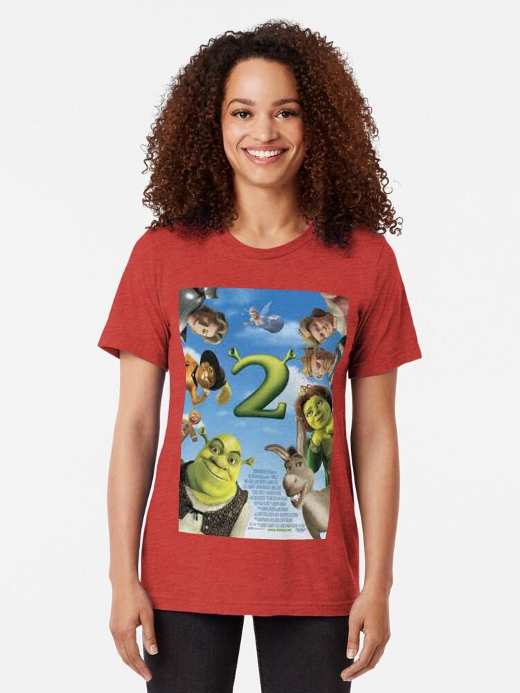 Alternative Ansicht von Shrek 2 Vintage T-Shirt