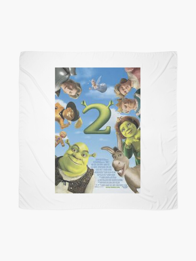 Alternative Ansicht von Shrek 2 Tuch