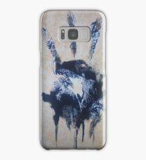 Black hand Samsung Galaxy Case/Skin