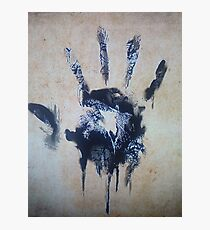 Black hand Photographic Print