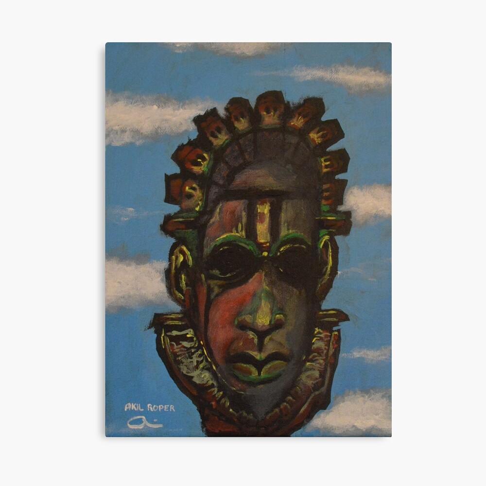 Máscara de Benin Lienzo