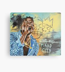 Good Kid M.A.A.D City Metal Print