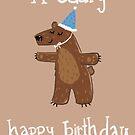 Birthday Bear by EmilyFromhage