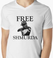 Free Shmurda Men's V-Neck T-Shirt