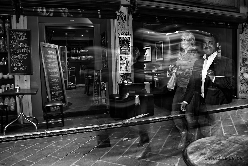 Too cool for coffee by Geraldine Lefoe