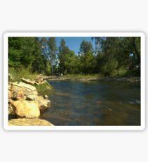 Peaceful River Sticker