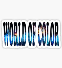 World Of Color Sticker