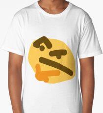 thinking emoji Long T-Shirt
