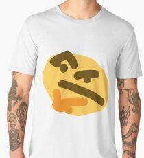 thinking emoji Men's Premium T-Shirt