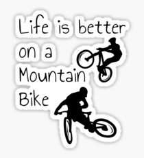 Mountain Bike T-Shirt MTB T-Shirt Sticker