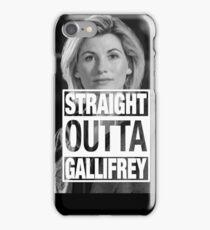 Straight Outta Gallifrey- Whitaker iPhone Case/Skin
