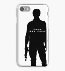 the name's solo iPhone Case/Skin